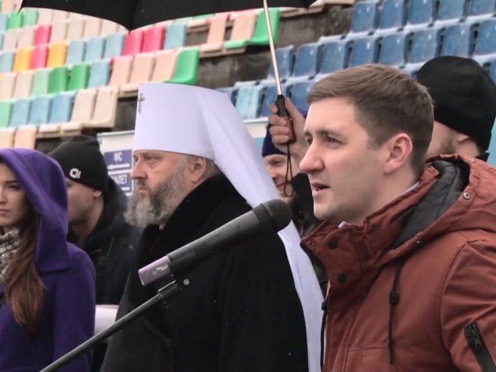 Митрополит вручил награды участникам футбольного турнира