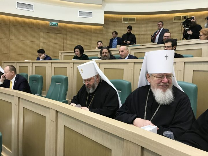 Глава Кузбасской митрополии принял участие в VI Рождественских парламентских встречах в Совете Федерации РФ