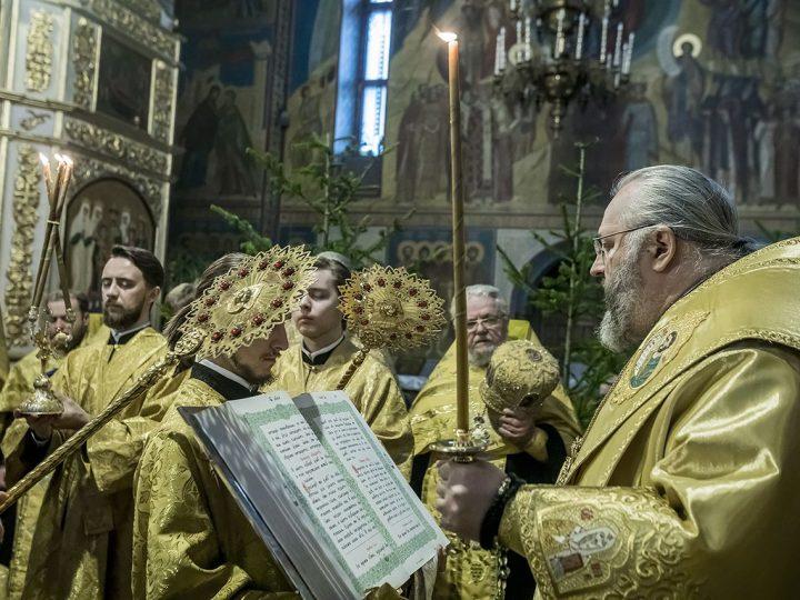 В день Соборной памяти семидесяти апостолов глава Кузбасской митрополии принимал поздравления с Днем рождения