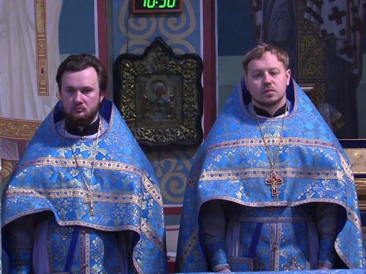 Божественная литургия в день Сретения Господня
