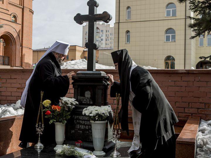 Спустя 10 лет после кончины первого архипастыря Кузбасса в Кемерове почтили его память