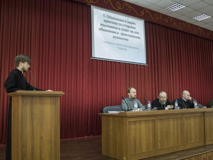 В Кузбасской семинарии состоялась предзащита дипломных работ