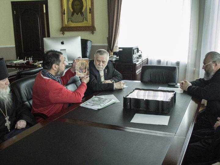 В Кемеровском епархиальном управлении обсудили празднование дня памяти преподобного Онуфрия Великого