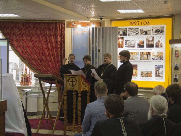 В преддверии Дня крещения Руси в Кемерове подвели итоги конкурса макетов храмов и открыли новый зал Музея