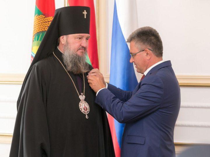 Глава Кузбасской митрополии принял участие в чествовании архиепископа Тираспольского и Дубоссарского