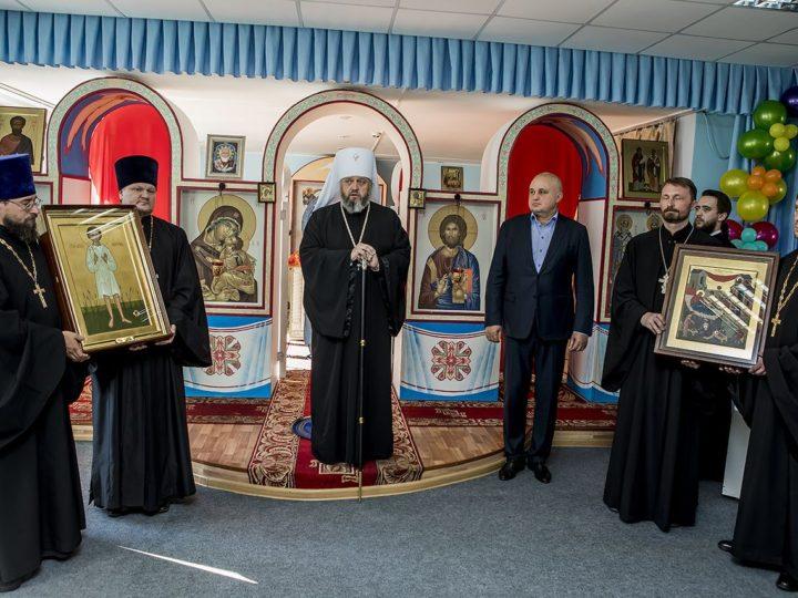 Губернатор Кузбасса и глава митрополии посетили Православную гимназию в Кемерове