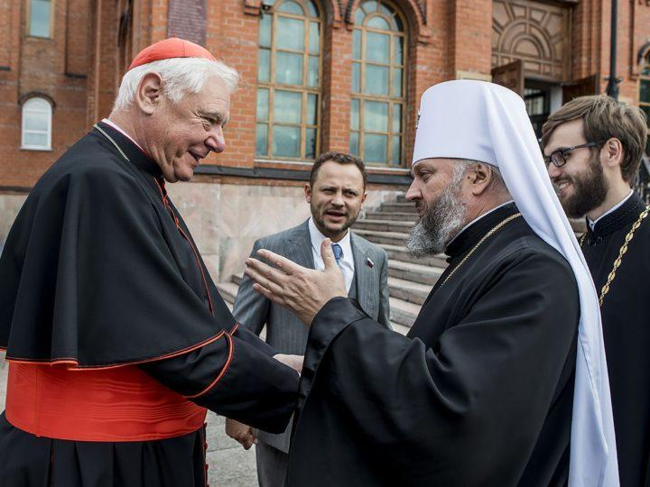 В Кемерово прибыл иерарх Римско-католической церкви Герхард Людвиг Мюллер