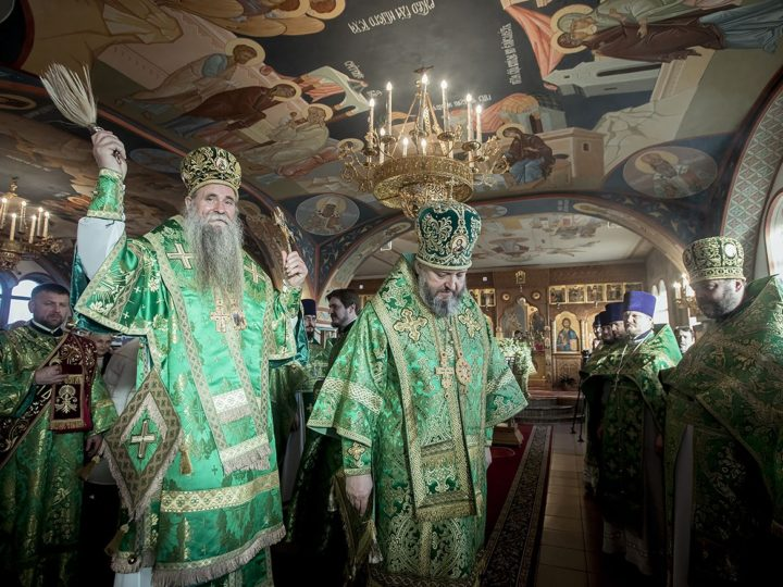 Храм на шахте в Полысаеве встретил престольный праздник