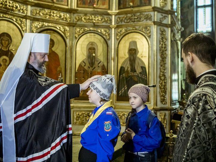 В Знаменском соборе состоялся чин прощения