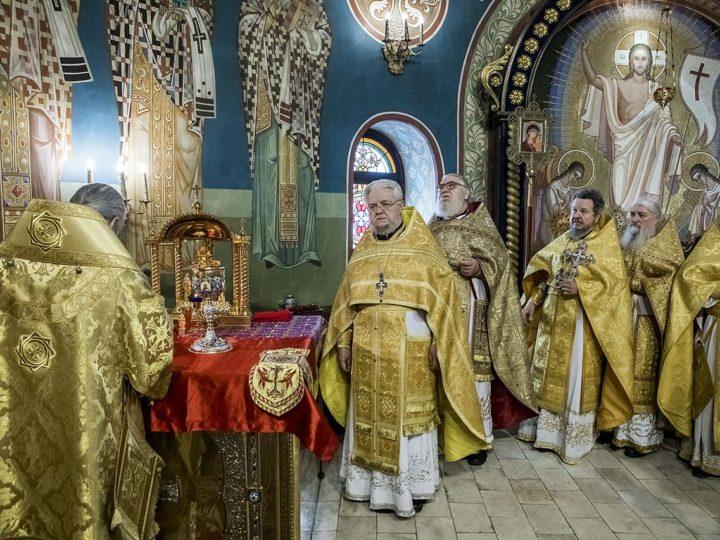 В главном храме Кузбасса совершён чин Торжества Православия
