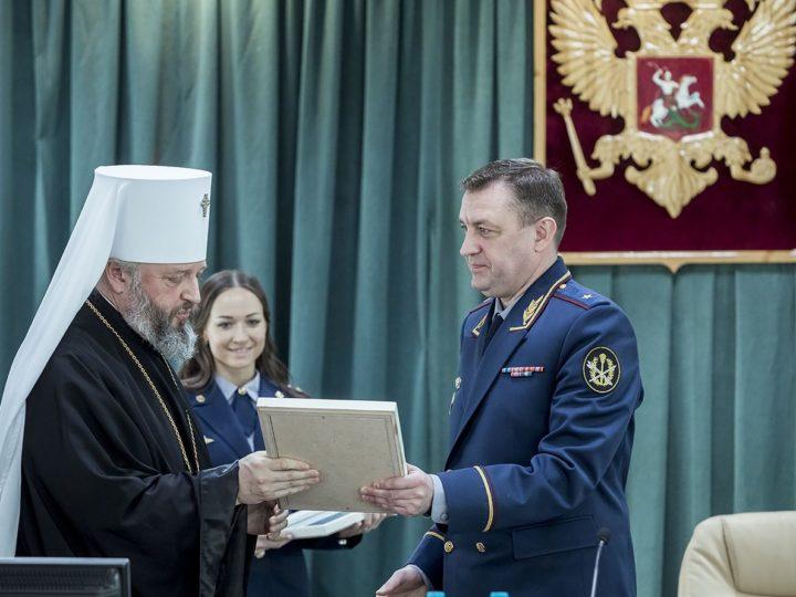 Митрополит Аристарх подписал трёхстороннее соглашение о взаимодействии Кузбасской митрополии с ГУФСИН и Духовным управлением мусульман