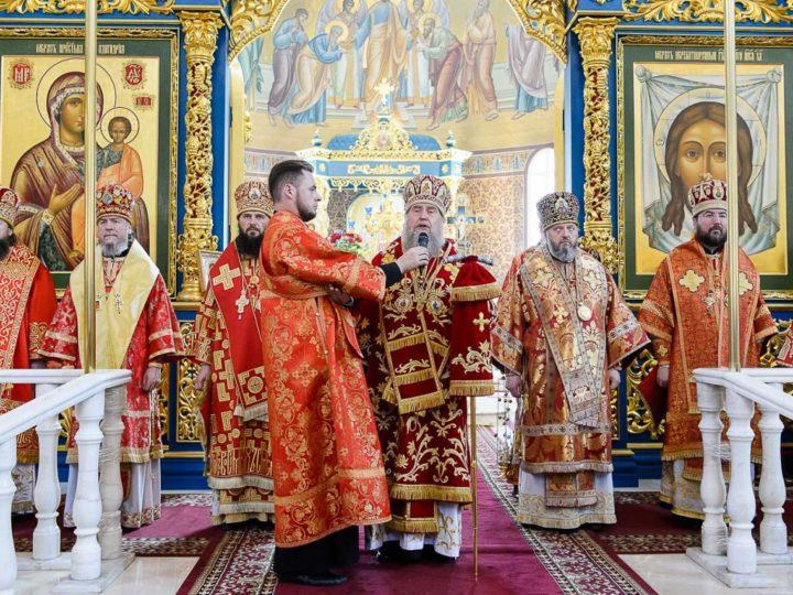 Митрополит Аристарх принял участие в торжествах по случаю 20-летия учреждения Астанайской епархии в Казахстане