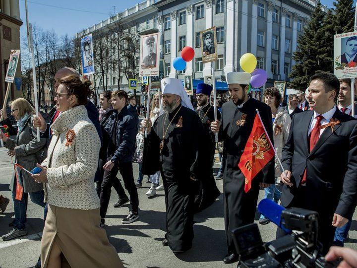 Митрополит Аристарх принял участие в областных торжествах в День Победы