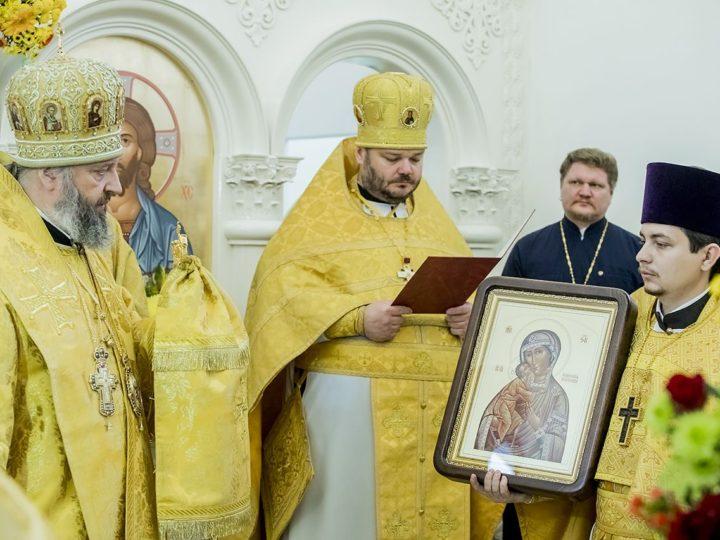 Кемеровский храм святых равноапостольных Кирилла и Мефодия встретил престольный день