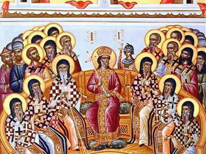 В седьмую неделю по Пасхе митрополит совершил богослужения в Знаменском соборе