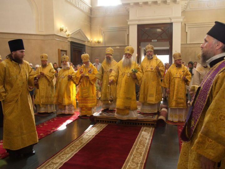 Участие главы Кузбасской митрополии в первом дне торжеств по случаю 25-летия Барнаульской епархии