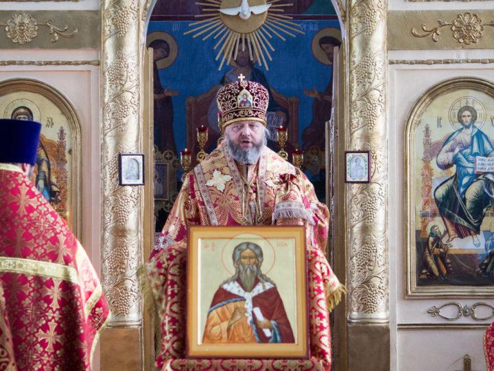 Глава митрополии посетил Ильинский храм в Краснобродском в престольный день