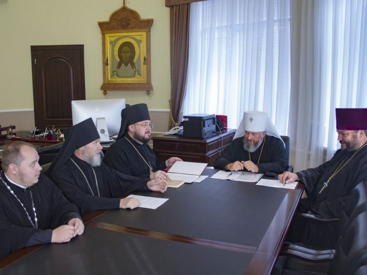 В Кемерове состоялось очередное заседание Архиерейского совета