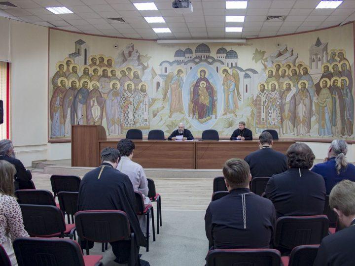 В Кемеровской епархии состоялось заседание Епархиального совета