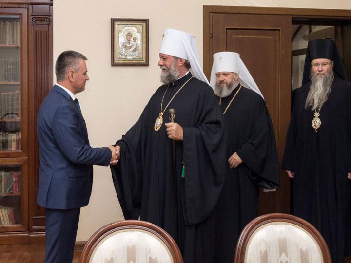 Митрополит Аристарх в составе делегации архиереев посетил администрацию Президента Приднестровской Молдавской Республики