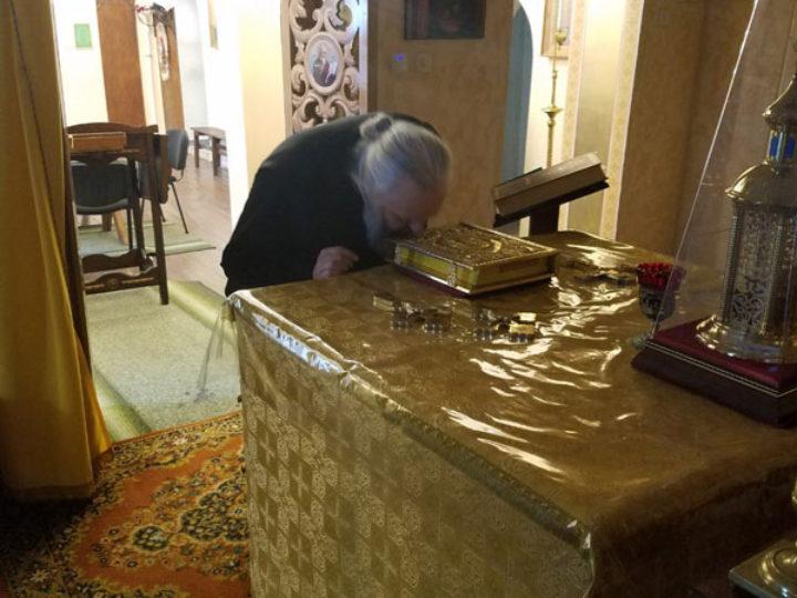 Митрополит Кемеровский и Прокопьевский Аристарх ознакомился с монастырём в Рыбницком районе Приднестровья