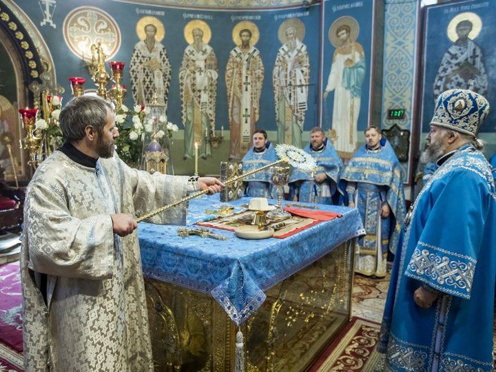 В праздник Рождества Пресвятой Богородицы митрополит совершил диаконскую хиротонию