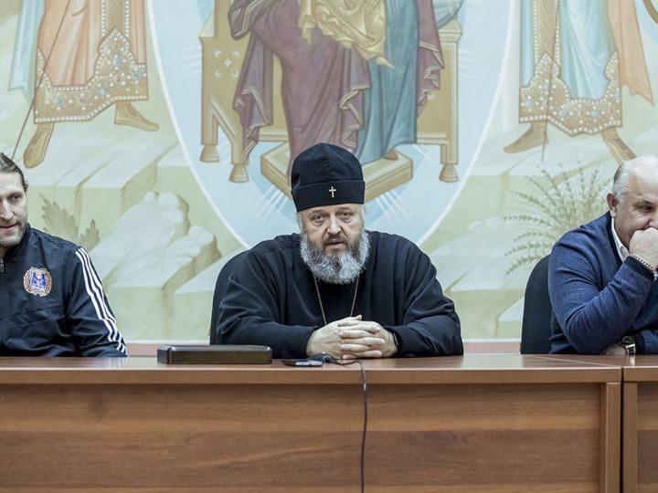 Глава Кузбасской митрополии провёл встречу с «Кузбассом»