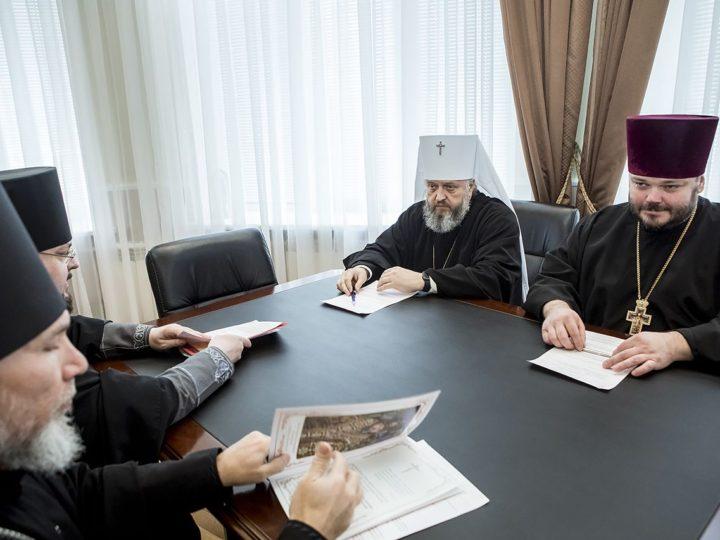 Архиерейский совет Кузбасской митрополии поддержал инициативу Святейшего Патриарха о внесении в Конституцию Российской Федерации упоминание Бога