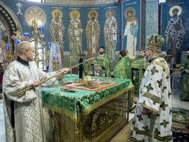 В день Входа Господня в Иерусалим в Кемерове состоялась диаконская хиротония