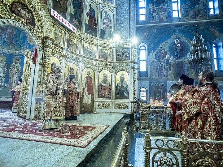 В последний воскресный день пасхального периода церковь прославила равноапостольных Кирилла и Мефодия