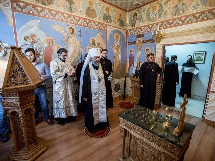 Митрополит Аристарх совершил панихиду в 9-й день после кончины митрополита Евлогия (Смирнова)