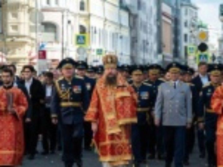 В Москве прошли торжества по случаю Ильина дня