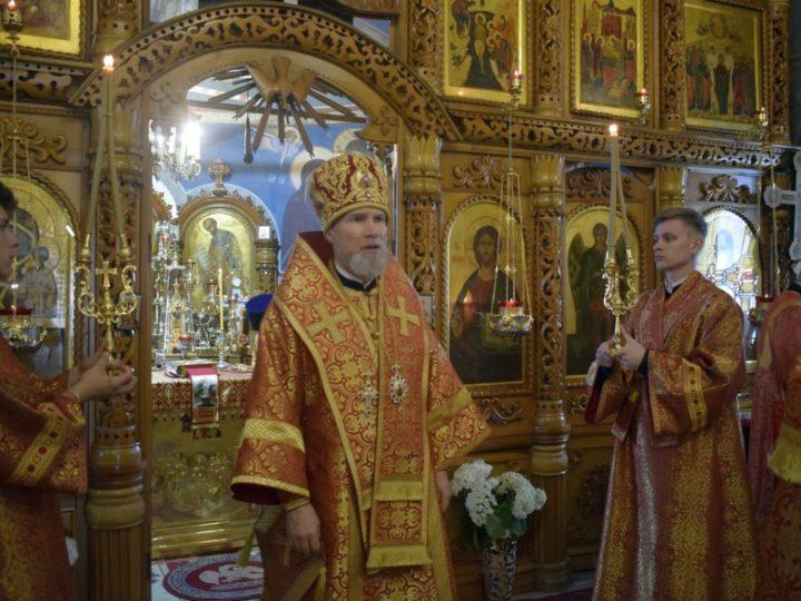 Епископ Новокузнецкий и Таштагольский Владимир возглавил торжества по случаю престольного праздника храма святого пророка Илии в селе Ильинка