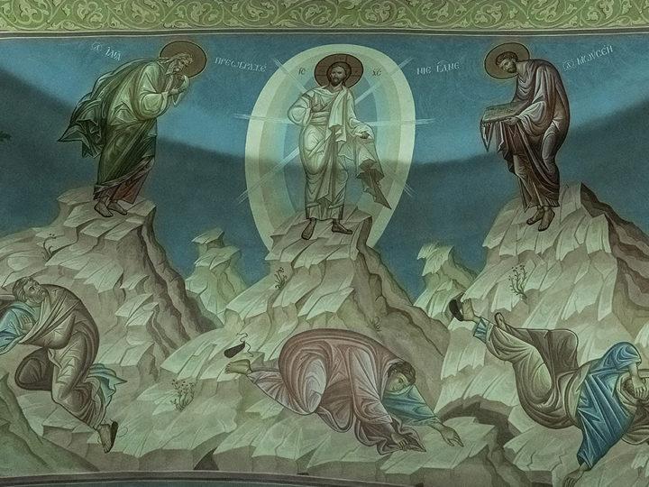 18 августа 2020 г. Всенощное бдение в соборе Рождества Христова г. Новокузнецка в канун Преображения Господня