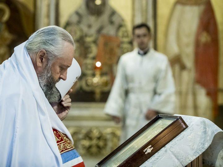 20 августа 2020 г. Годовщина архиерейской хиротонии главы Кузбасской митрополии