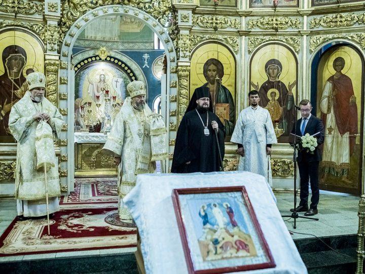Глава митрополии встретил годовщину архиерейской хиротонии