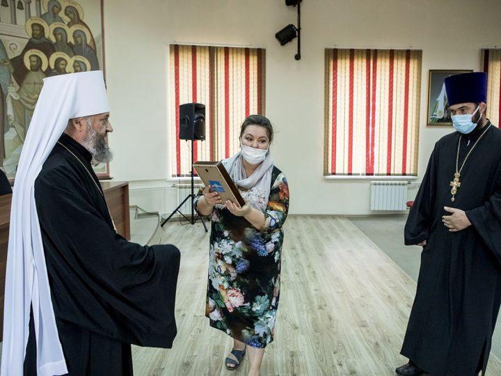 Глава митрополии вручил общецерковные и епархиальные награды