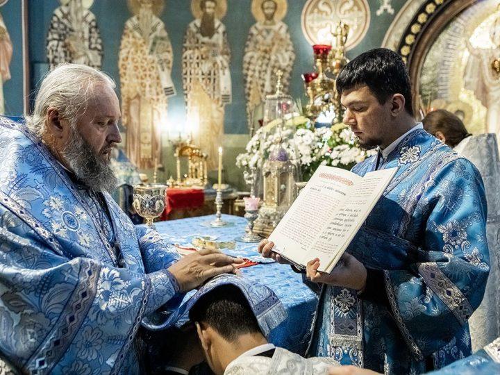 28 августа 2020 г. Празднование Успения Пресвятой Богородицы в Знаменском соборе