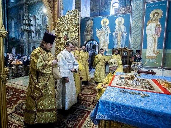 В день прославления Собора Кемеровских святых клир епархии пополнился диаконом