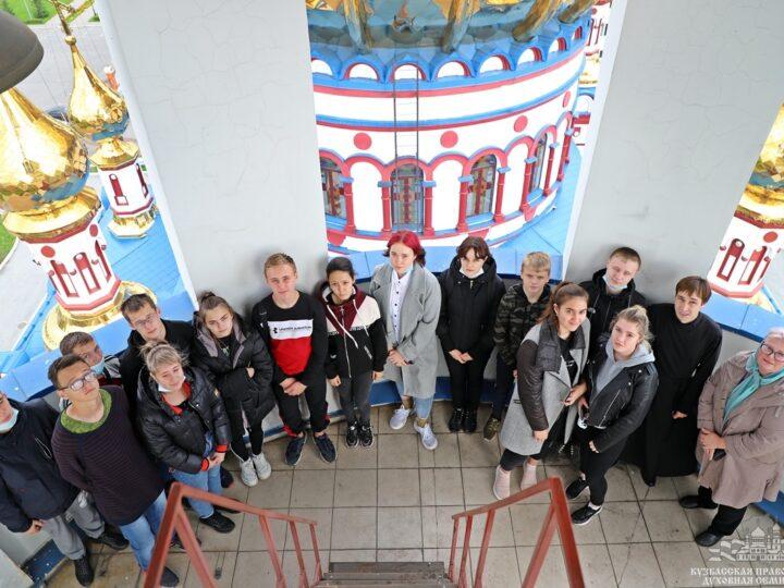 Студенты новокузнецкого колледжа посетили Кузбасскую семинарию