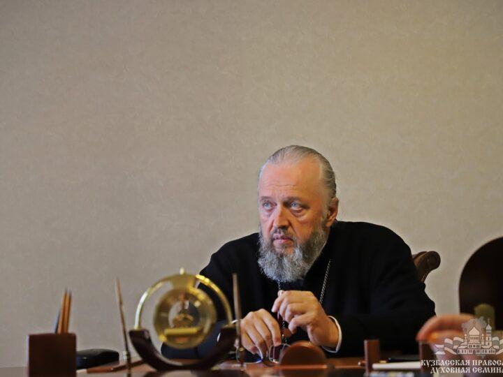 Рабочий день главы митрополии прошёл в духовной школе Кузбасса