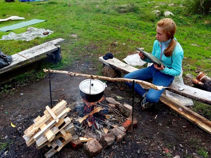 Прокопьевские следопыты побывали в горах Кузнецкого Алатау