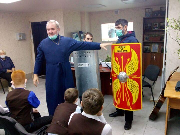 В Центре по работе с населением Кемерова прошёл урок истории и патриотизма