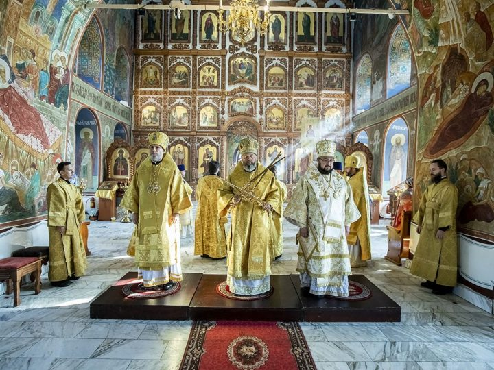 1 сентября 2020 г. Богослужение в день архиерейской хиротонии епископа Новокузнецкого и Таштагольского Владимира