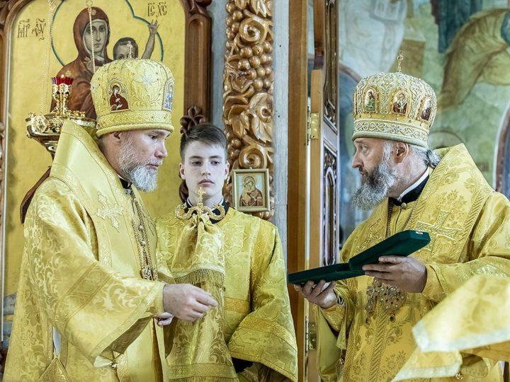 Епископ Новокузнецкий и Таштагольский Владимир встретил шестую годовщину архиерейской хиротонии