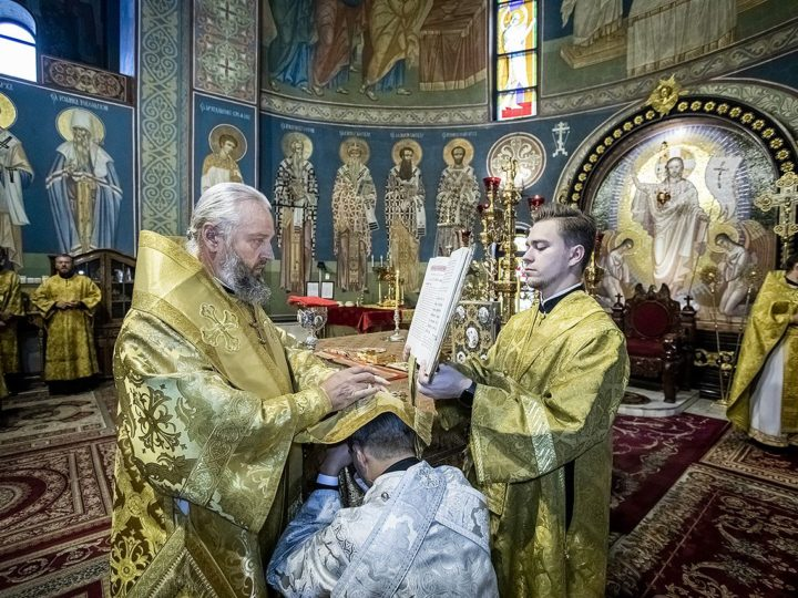 6 сентября 2020 г. Хиротония Александра Серафимовича в сан диакона