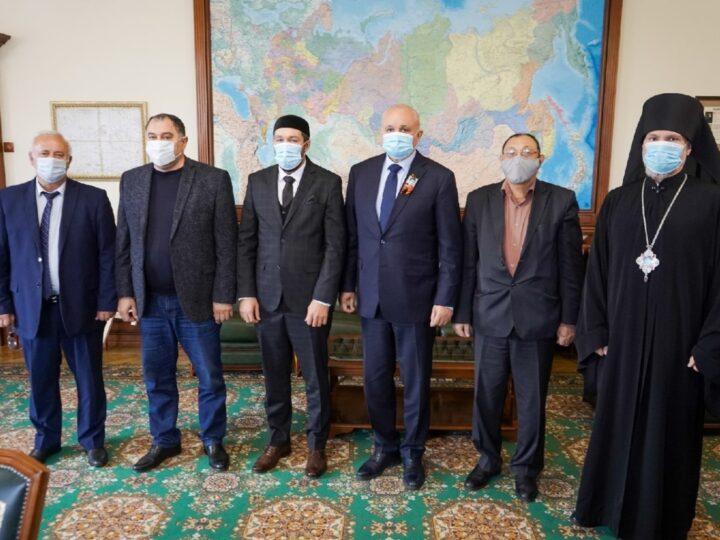 Представитель митрополии принял участие в совещании по межнациональным и межрелигиозным отношениям