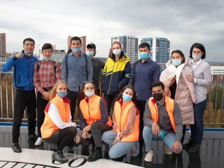 Активисты «Софии» провели мероприятие для иностранных студентов КемГУ