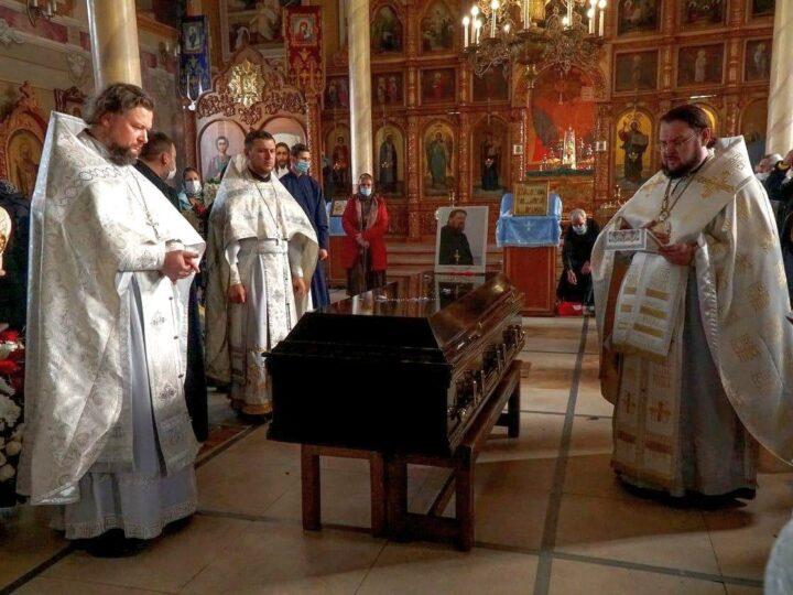 Состоялось погребение протоиерея Николая Гомзяка