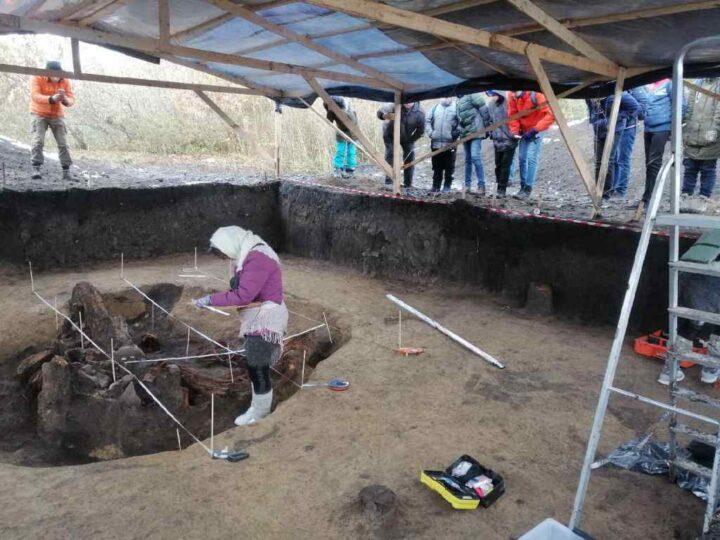 Ученики кемеровской православной гимназии приняли участие в археологических раскопках